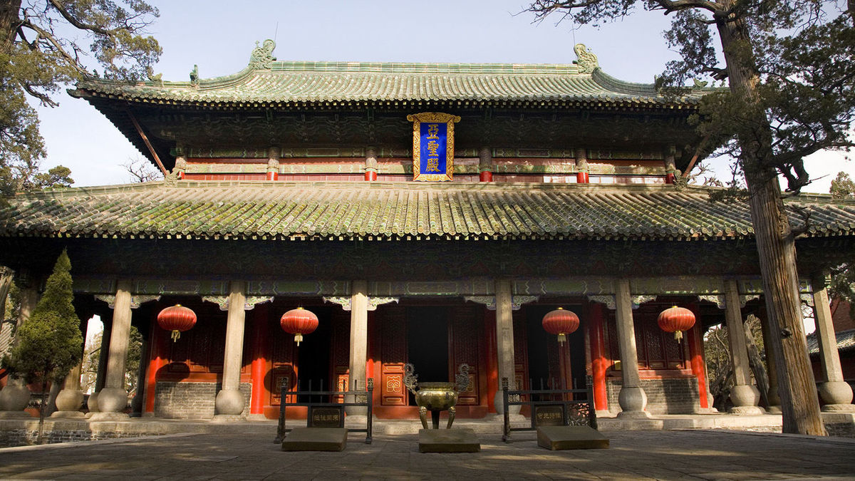 The Mencius Temple today